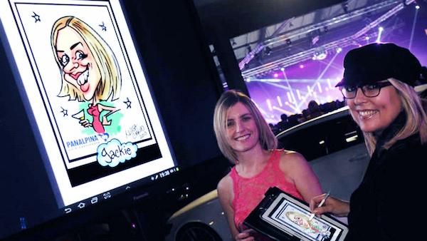 Caricaturist - Luisa Thumbnail