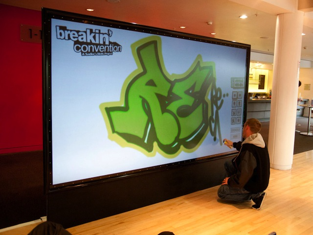 Digital Grafitti Wall - 12