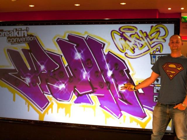 Digital Grafitti Wall - 9