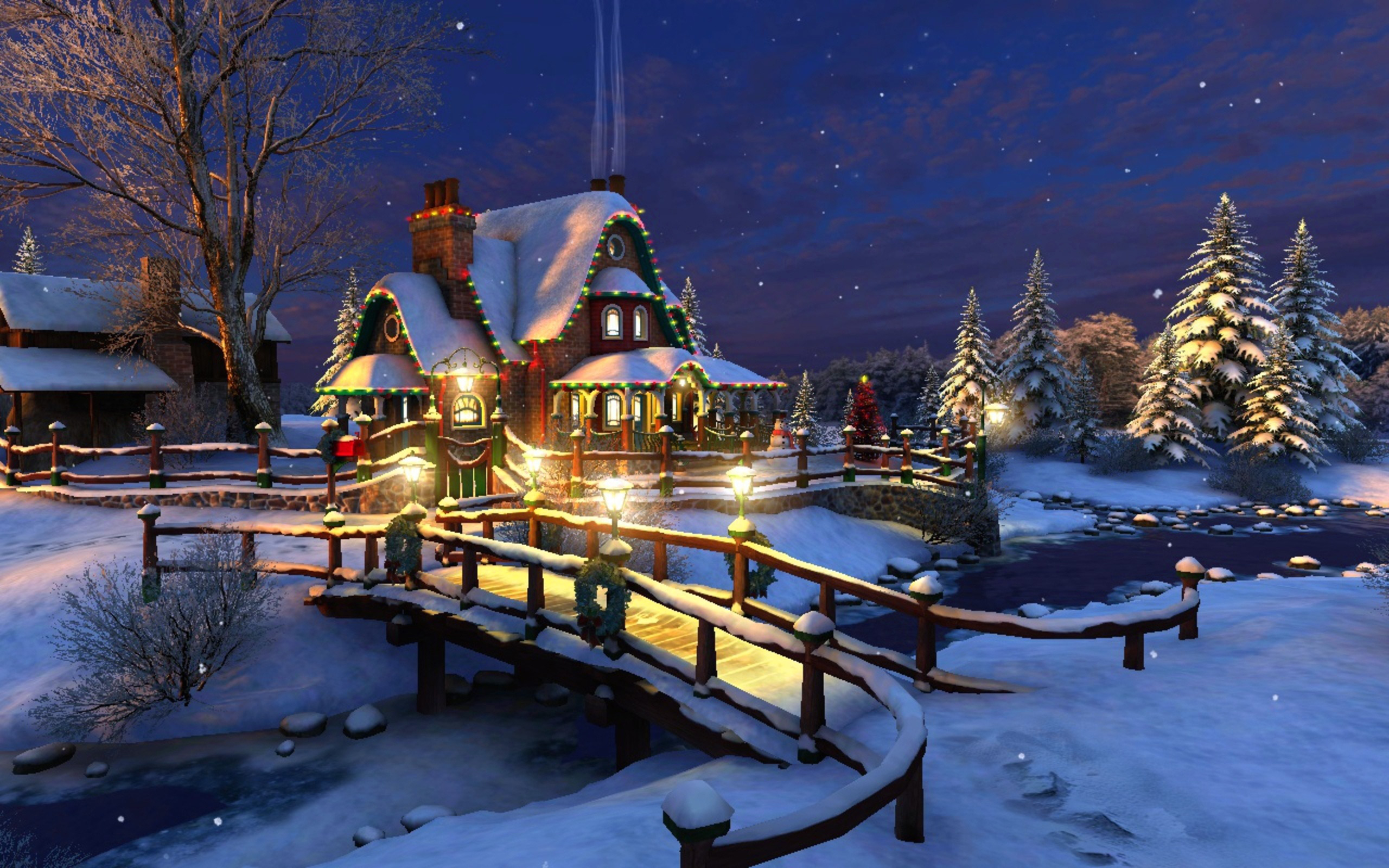 Christmas_Lighted_House_Background