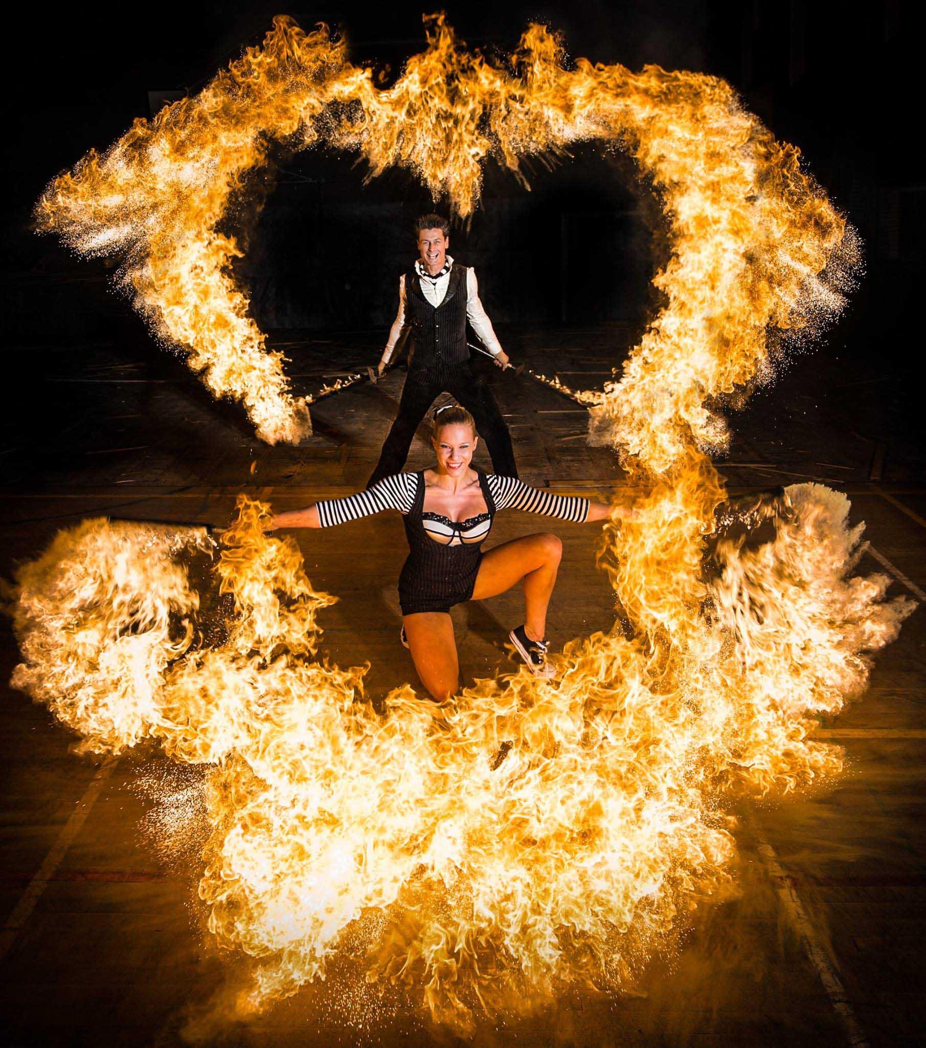 Spark Fire Dance Blank Canvas Entertainment Blank
